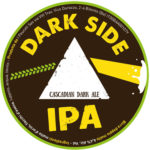 Dark Side IPA-Cascadian Dark Ale 6% ALC. Vol.